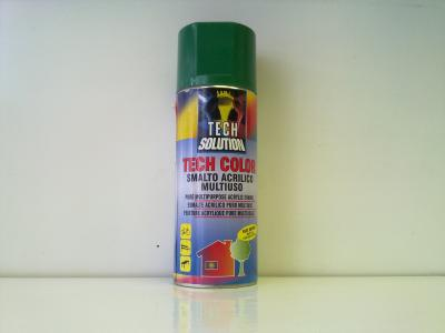 Tech-Color sprej RAL 6029 mátově zelená Lesk 400ml